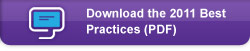Download the 2011 Best Practices (PDF)